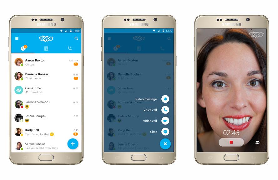 скачать приложения скайп на андроид