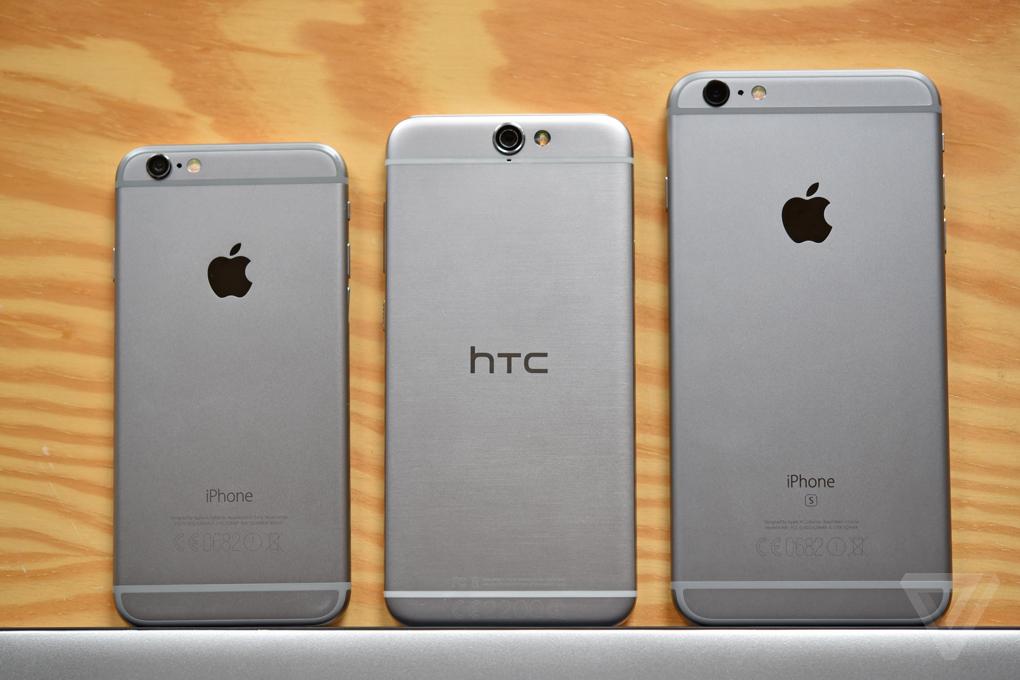 The Verge Apple HTC A9
