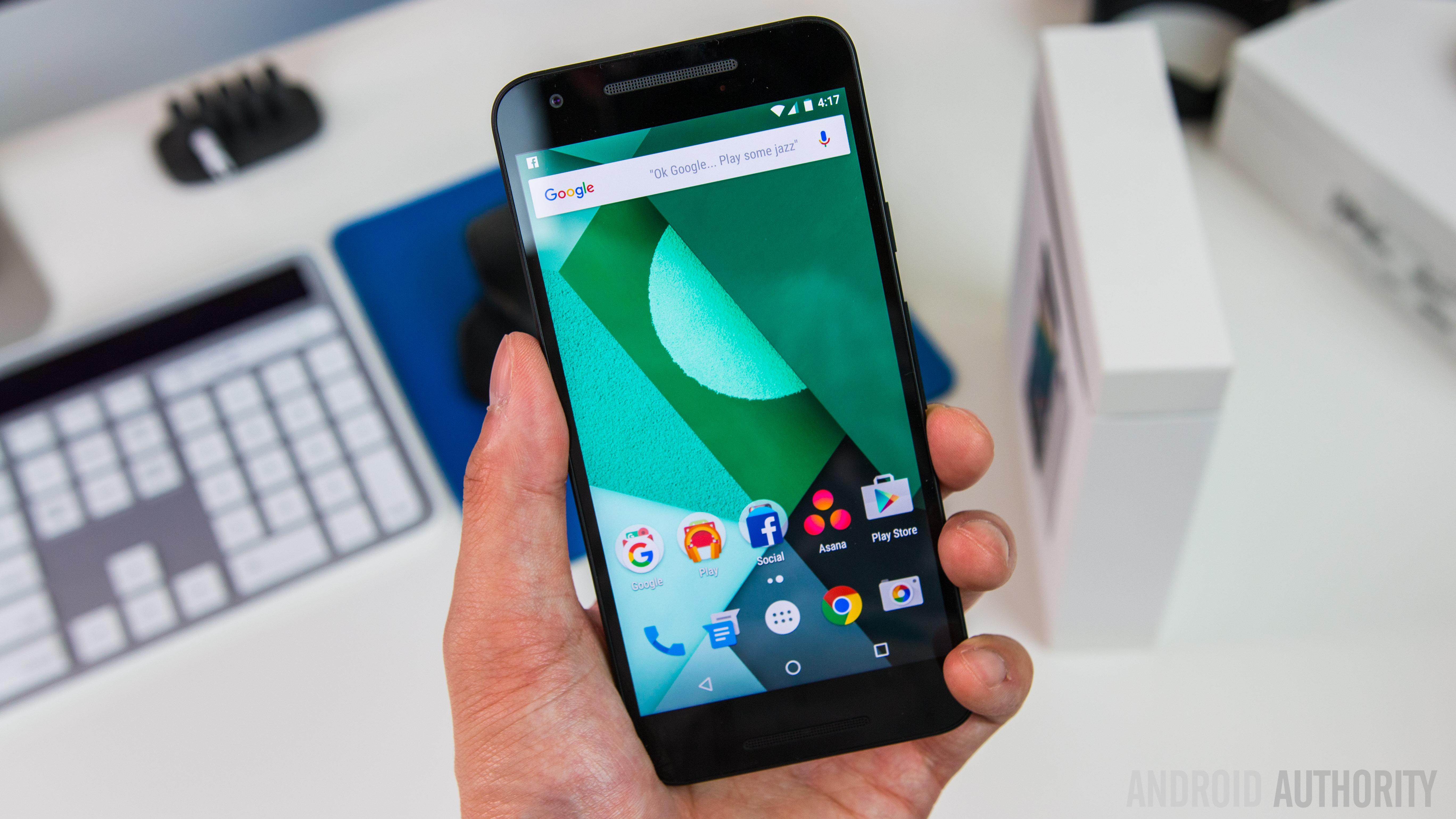 LG Nexus 5X Unboxing-22