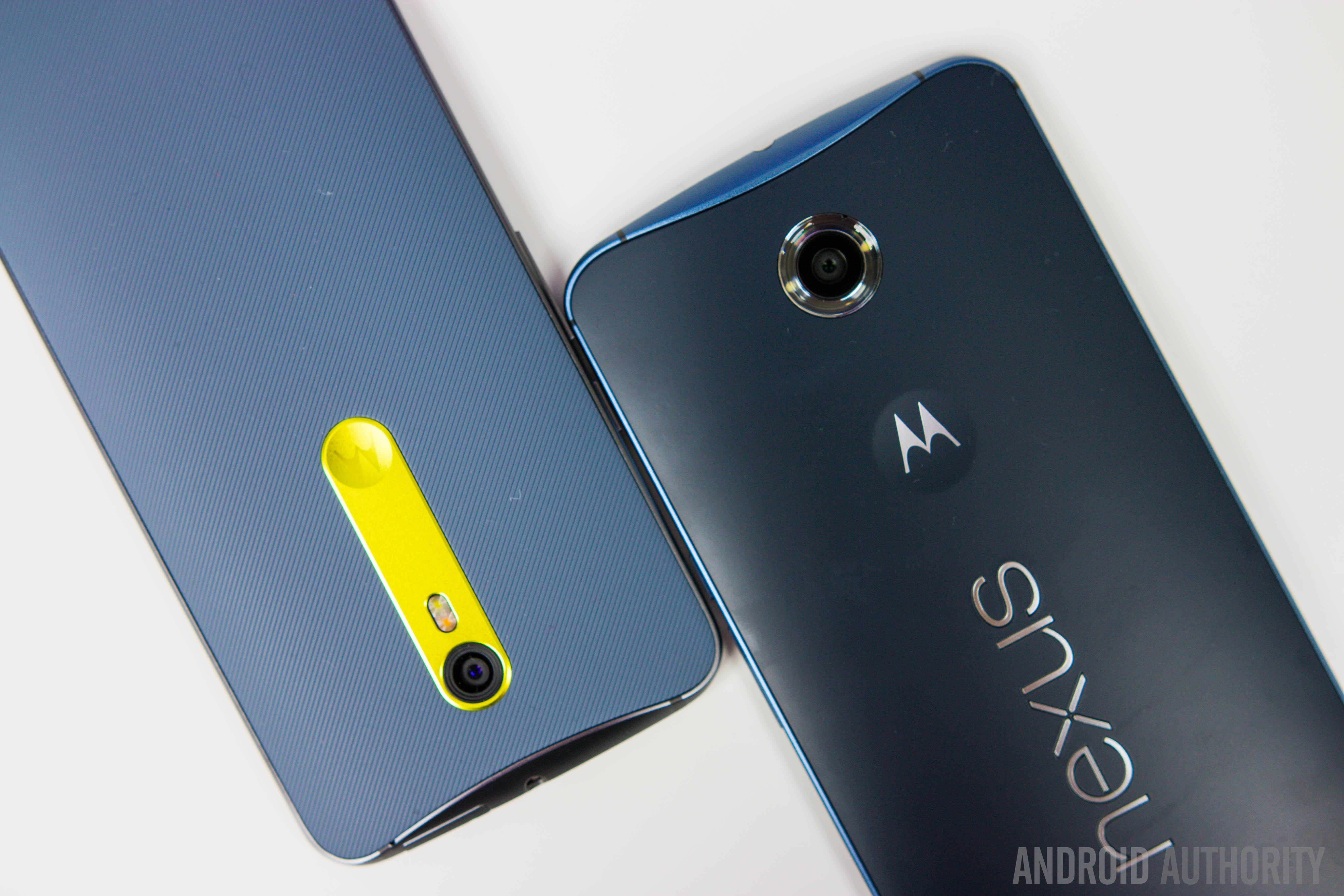 Moto X Pure Edition Vs Nexus 6-7