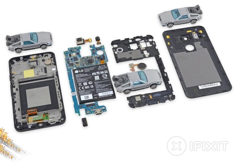 Nexus 5X teardown 1
