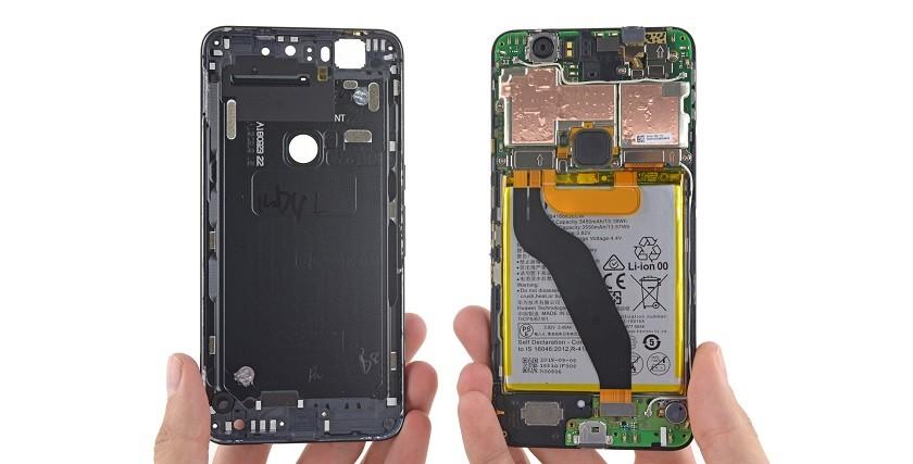 Nexus 6P teardown 1