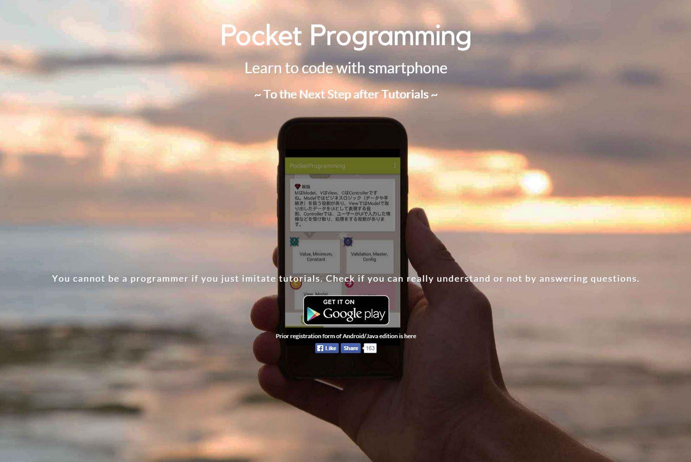 Pocket Programming helps beginners polish their coding skills