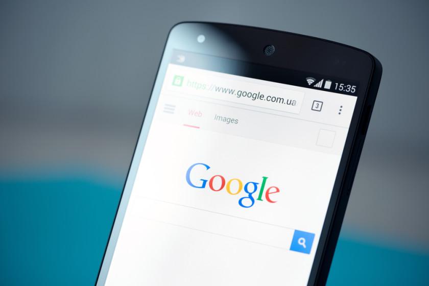 Google logo web browsing