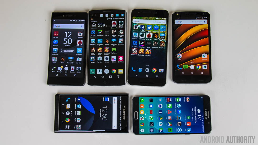 Best Android smartphones flagships 1