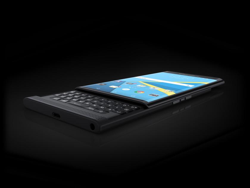 BlackBerry Priv press