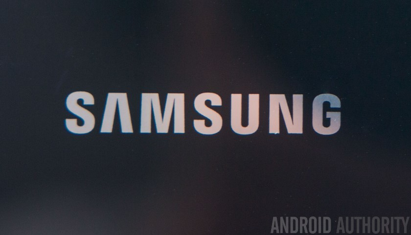 Samsung Logo Close Up AA