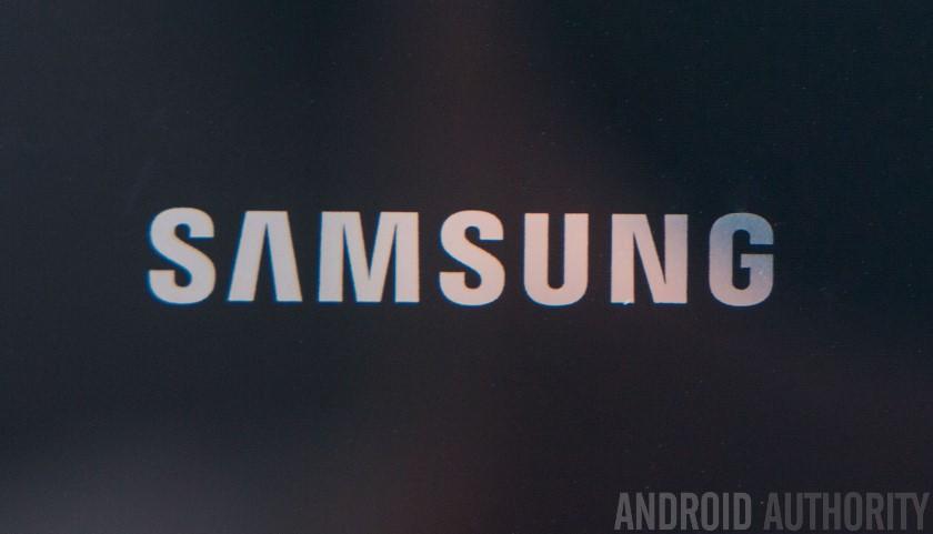Samsung Logo Close Up AA