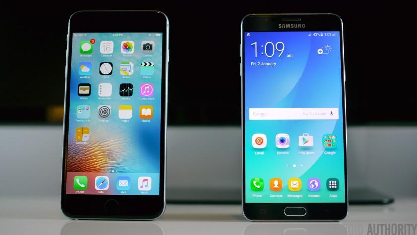 iphone vs android job intervew