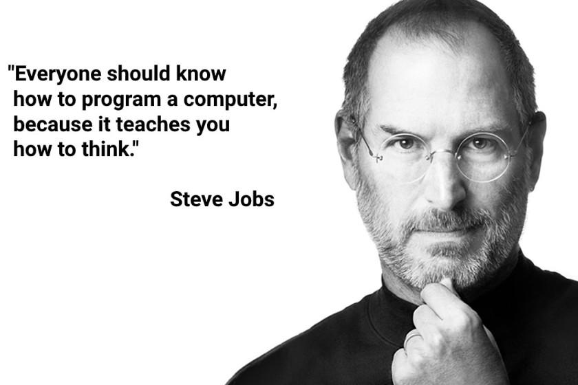 Steve Jobs über den Nutzen von Programmieren