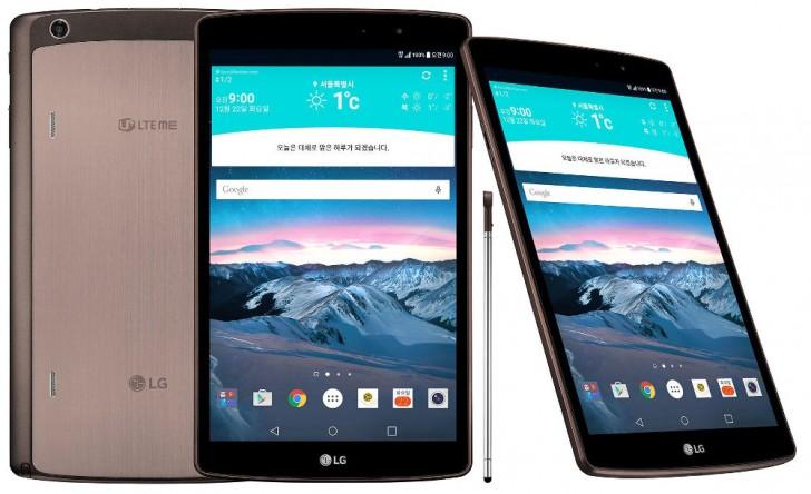 LG G Pad II 8.0 LTE:Especificações e configurações
