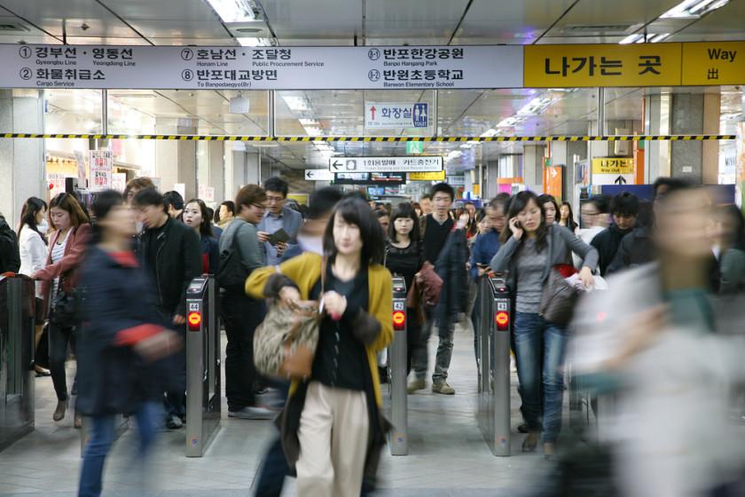 Metropolitan Subway in Seoul