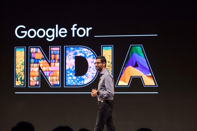 Sundar Pichai Google for India