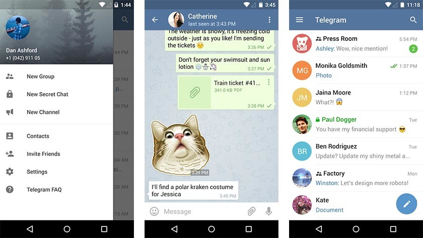 Telegram most controversial android apps of 2015