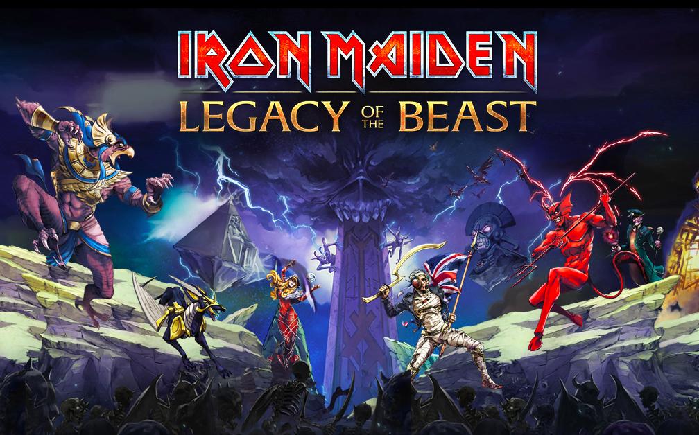 Iron Maiden Legacy of the Beast AA