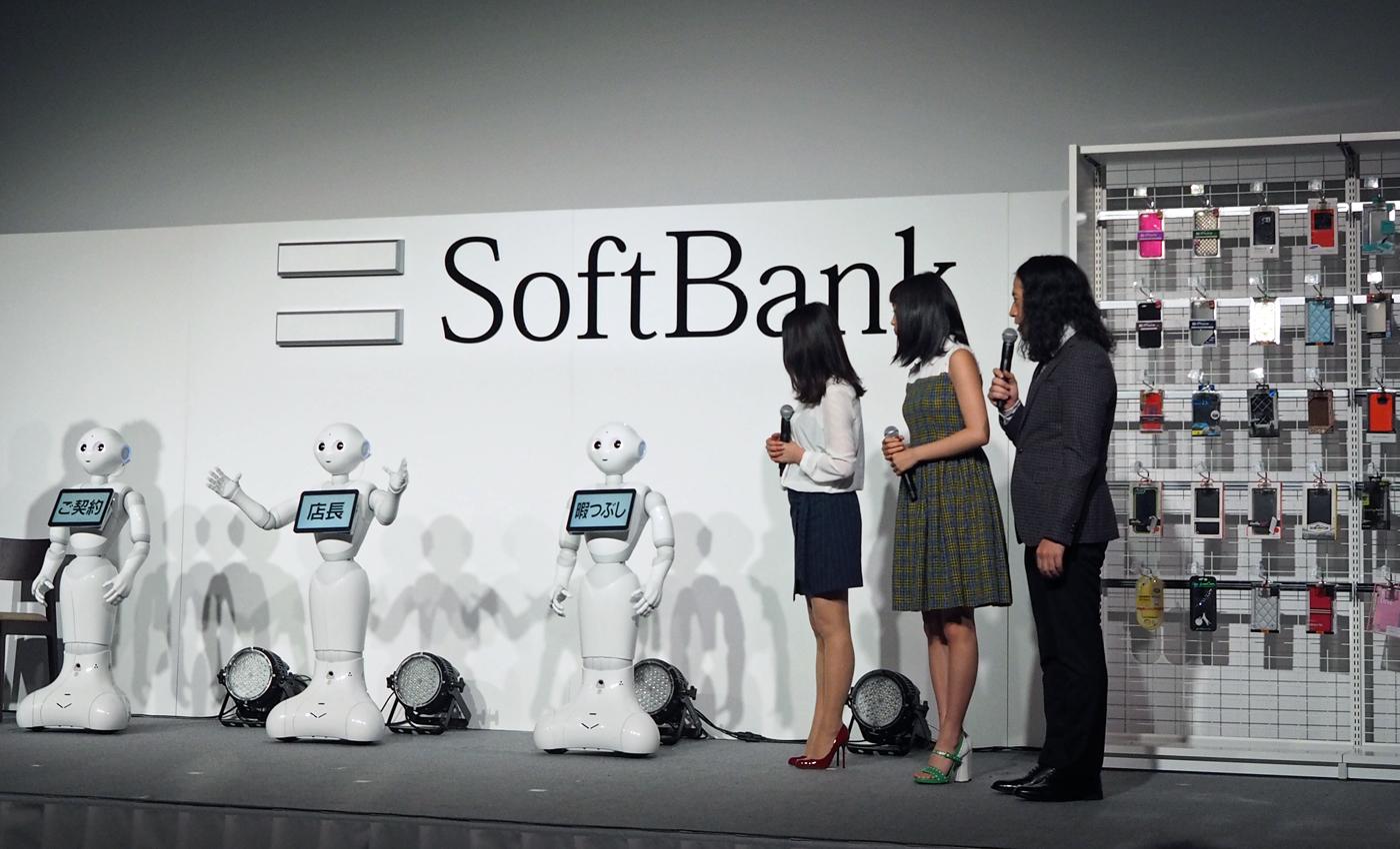 Softbank Pepper Robots