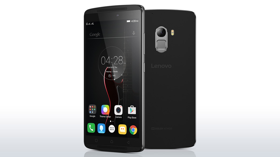 lenovo k4 note front and back render