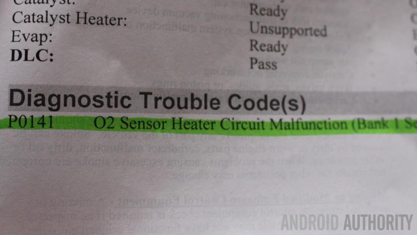 Android auto repair DEQ OBDII engine light