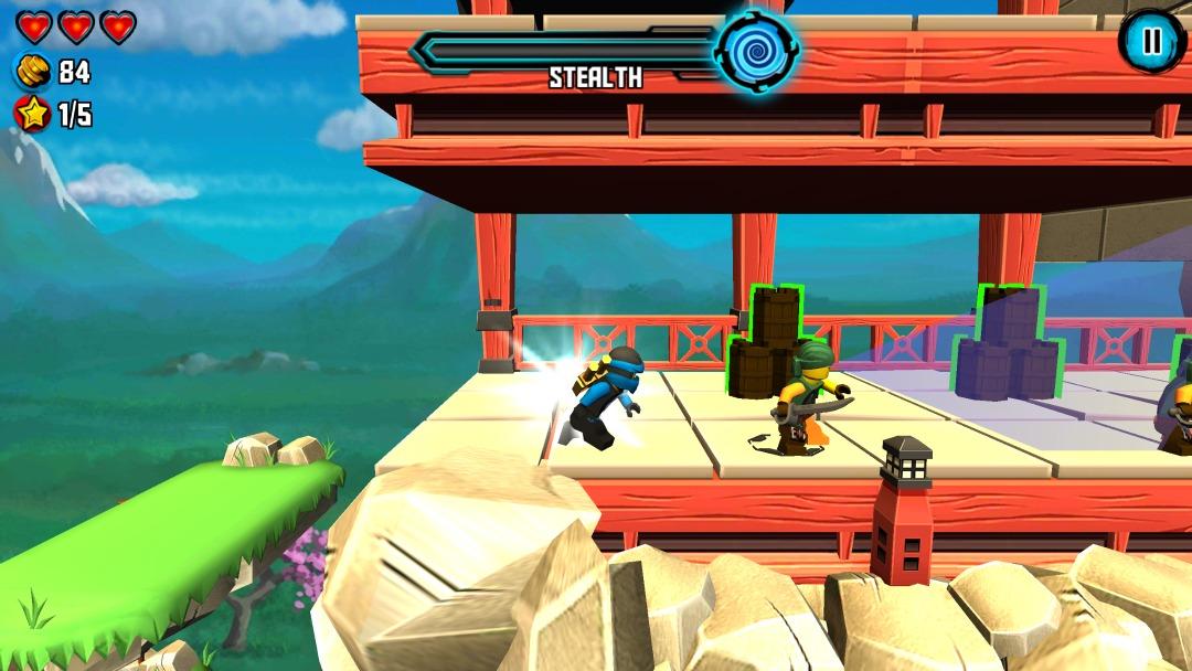 LEGO Ninjago Skybound stealth mode