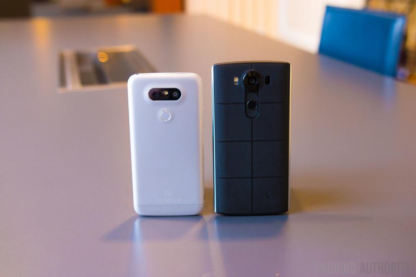 LG G5 vs LG V10 - Android Authority