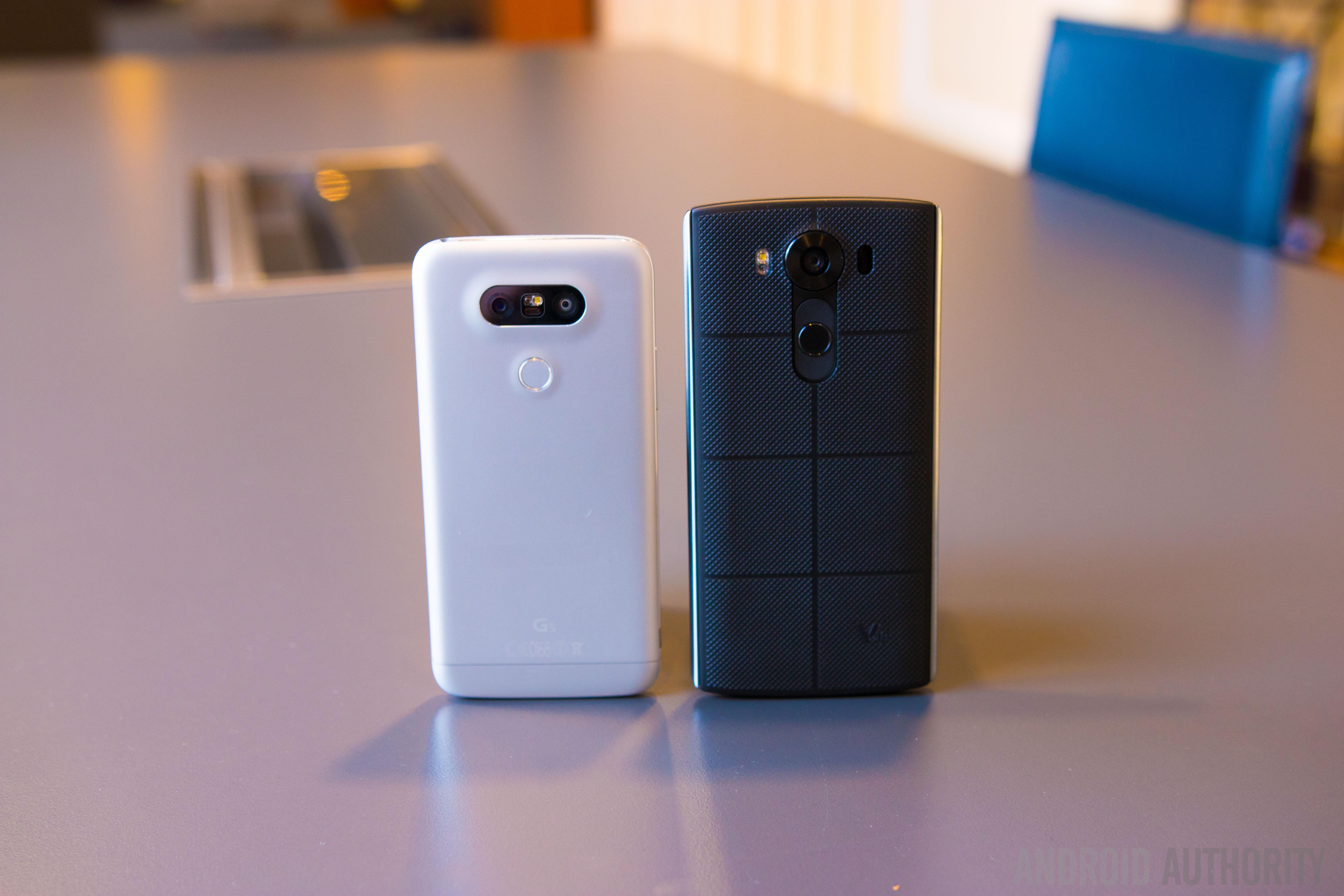 LG G5 vs LG V10 quick look-1