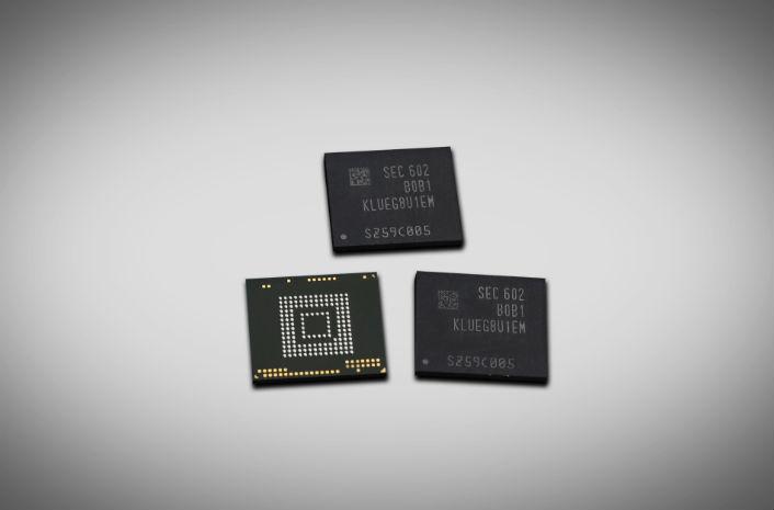 Samsung 256GB UFS memory