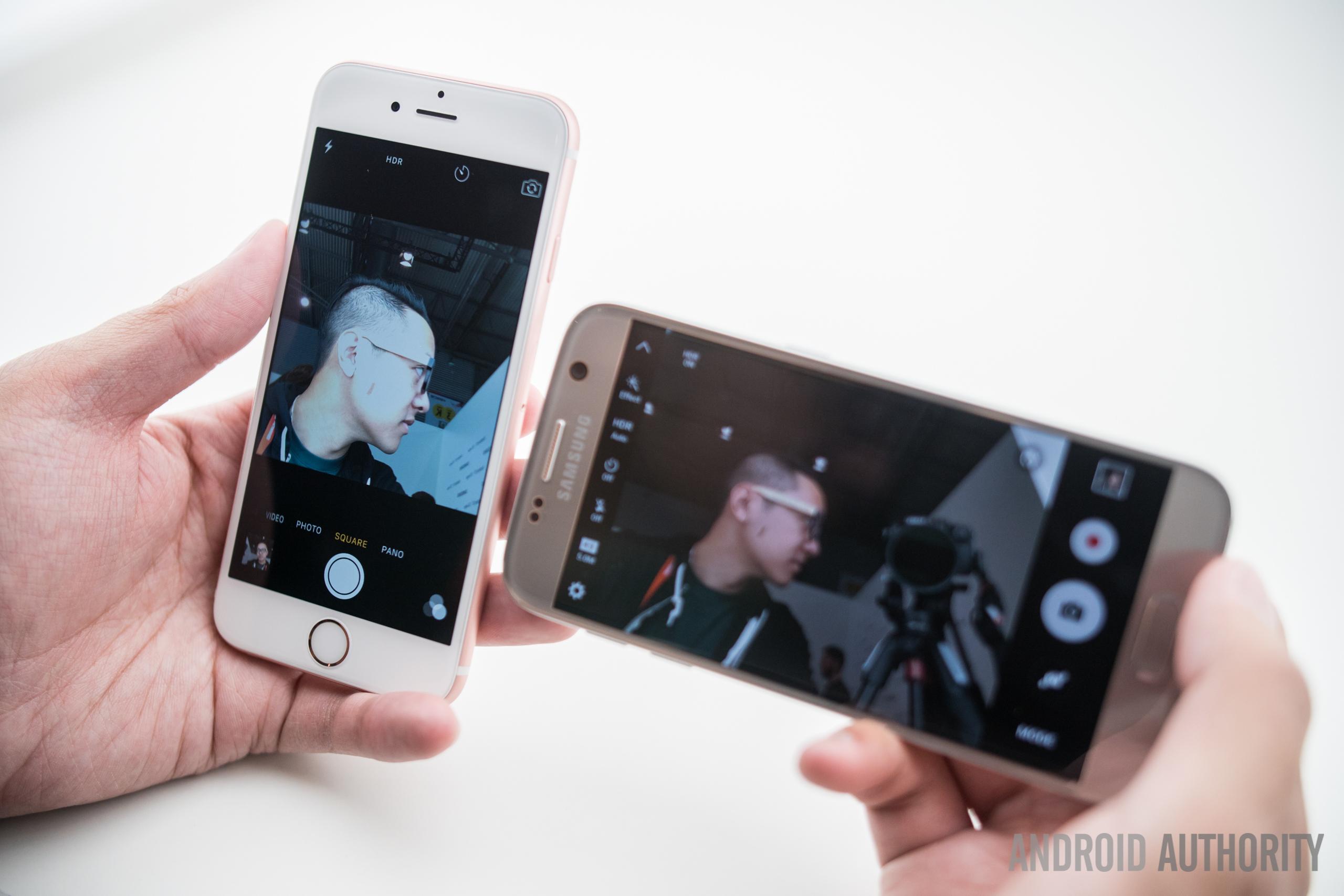 Samsung galaxy s7 vs lg g5 vs apple iphone 6s vs samsung galaxy s6 - Samsung Galaxy S7 Vs Lg G5 Vs Apple Iphone 6s Vs Samsung Galaxy S6 15