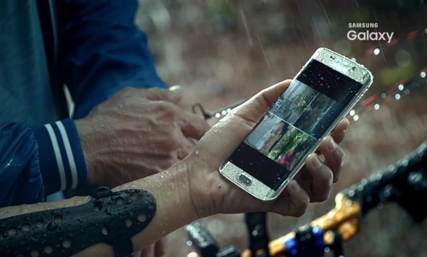 Samsung galaxy S7 edge waterproof