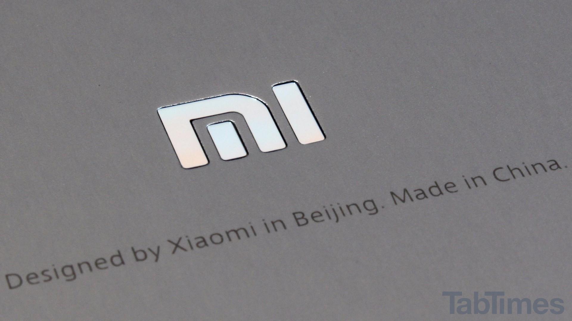 Xiaomi MiPad 2 xiaomi logo tt