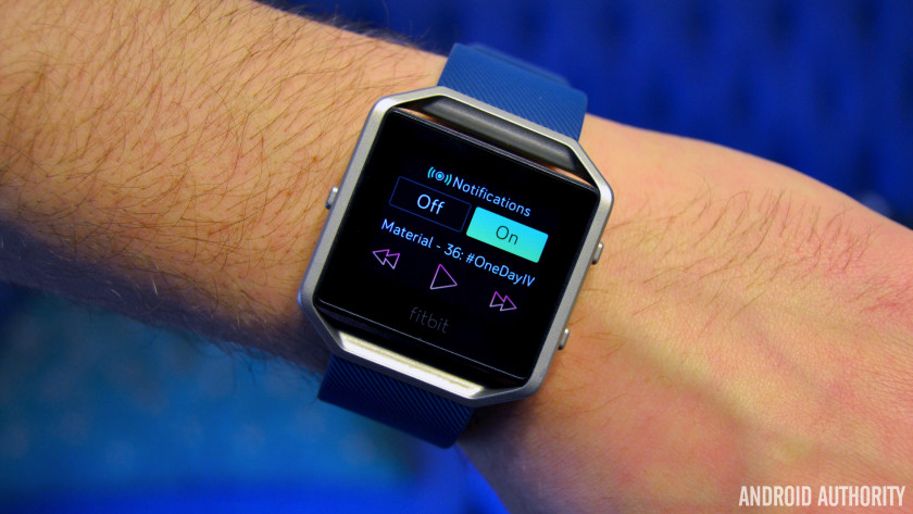 fitbit blaze review android authority. Black Bedroom Furniture Sets. Home Design Ideas