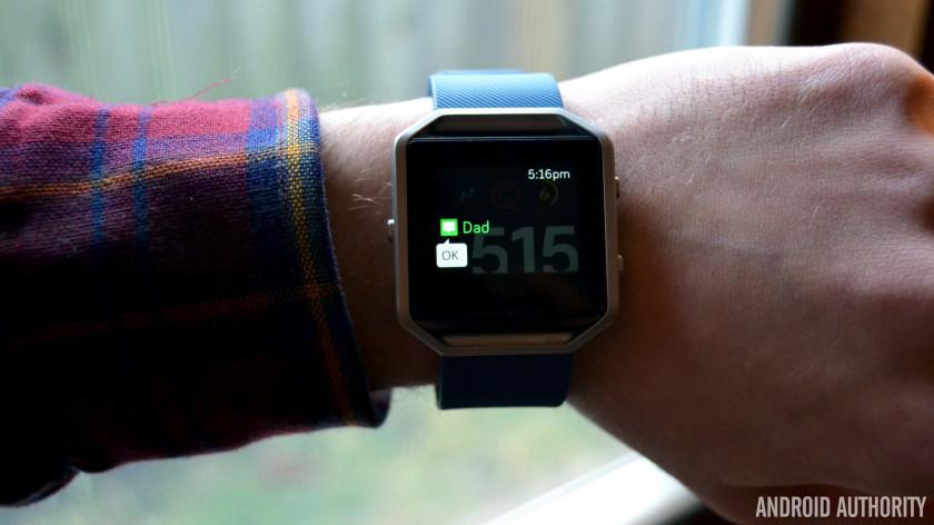 Fitbit Blaze review AA 23