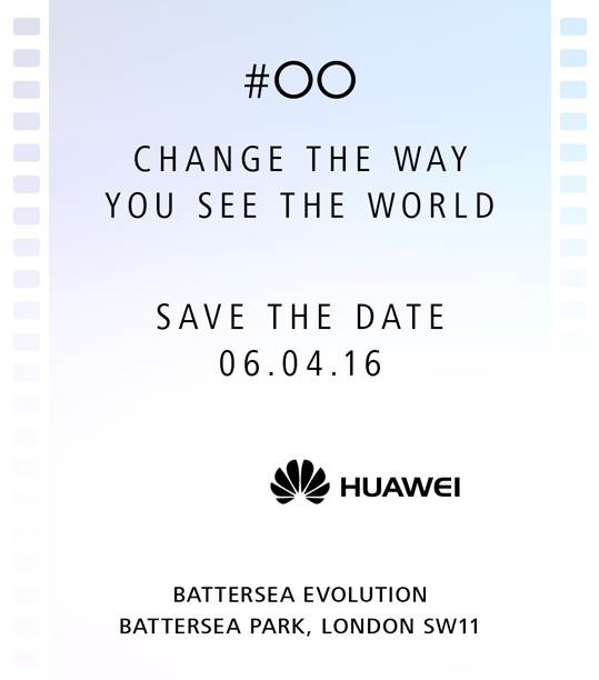 Huawei P9 April 6th launch event