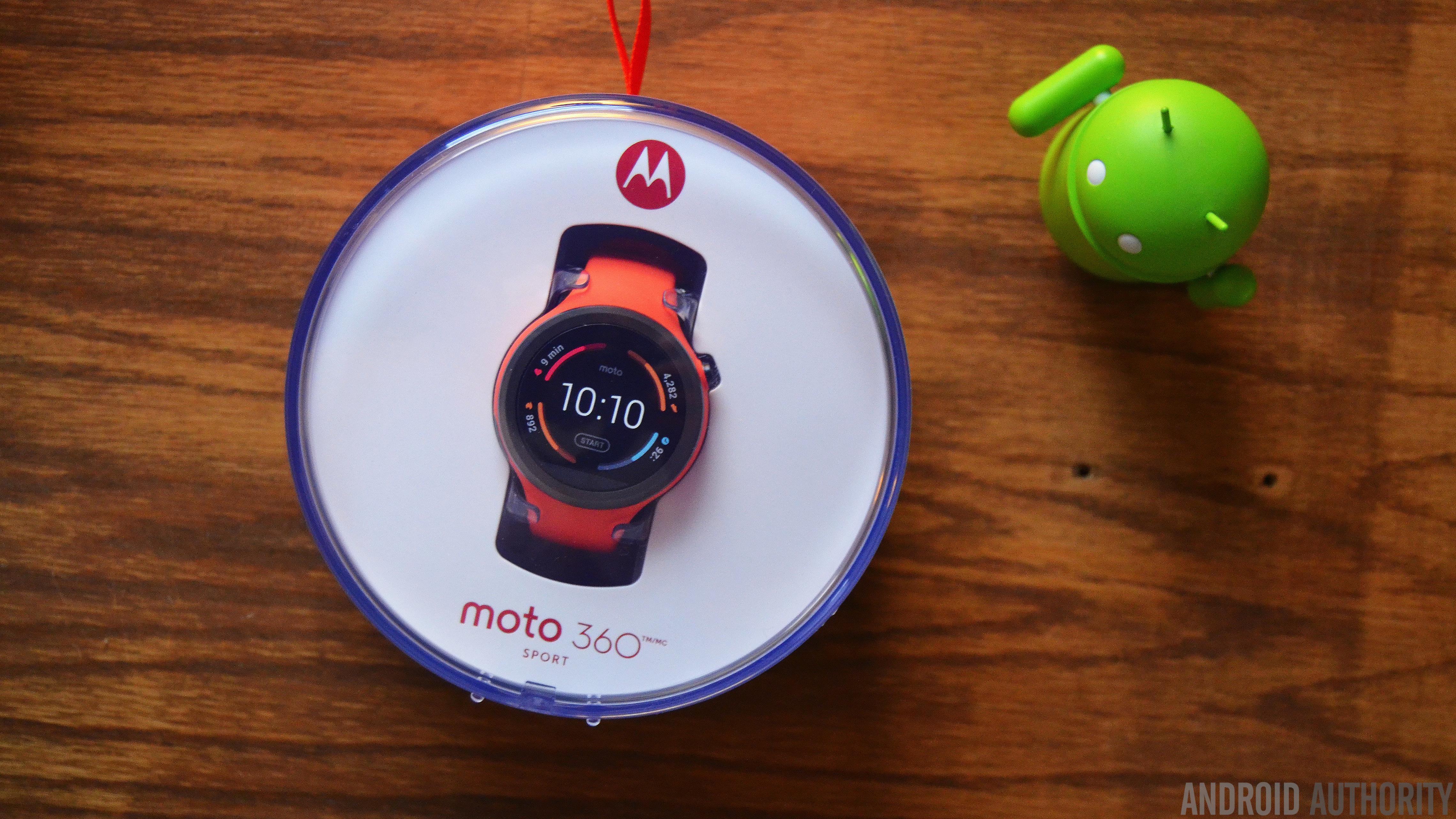 Moto 360 Sport review AA 16