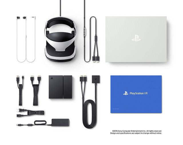 PlayStation VR box bundle