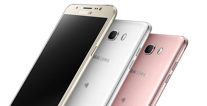 Samsung Galaxy J7 2016 model