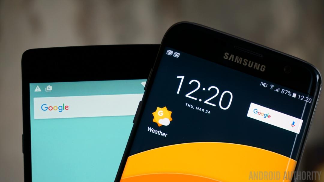 Samsung Galaxy S7 Edge OnePlus 2 - 1