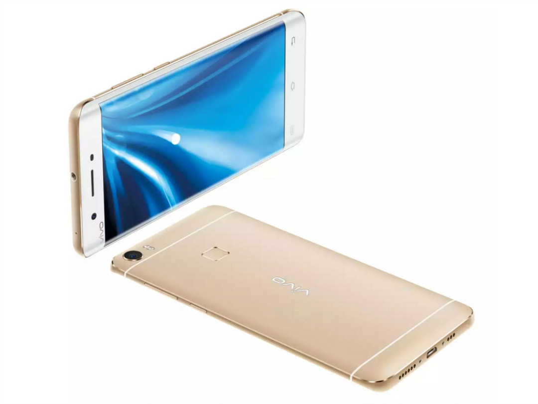 Vivo Xplay 5 front and back