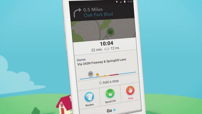 Waze version 4 UI