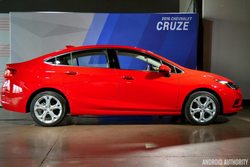 2016 Chevrolet Cruze Android Auto 21