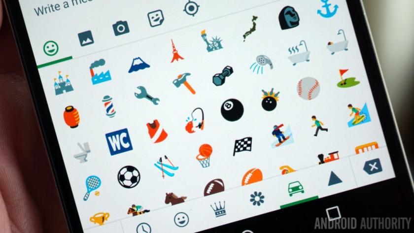 Android N emoji 2