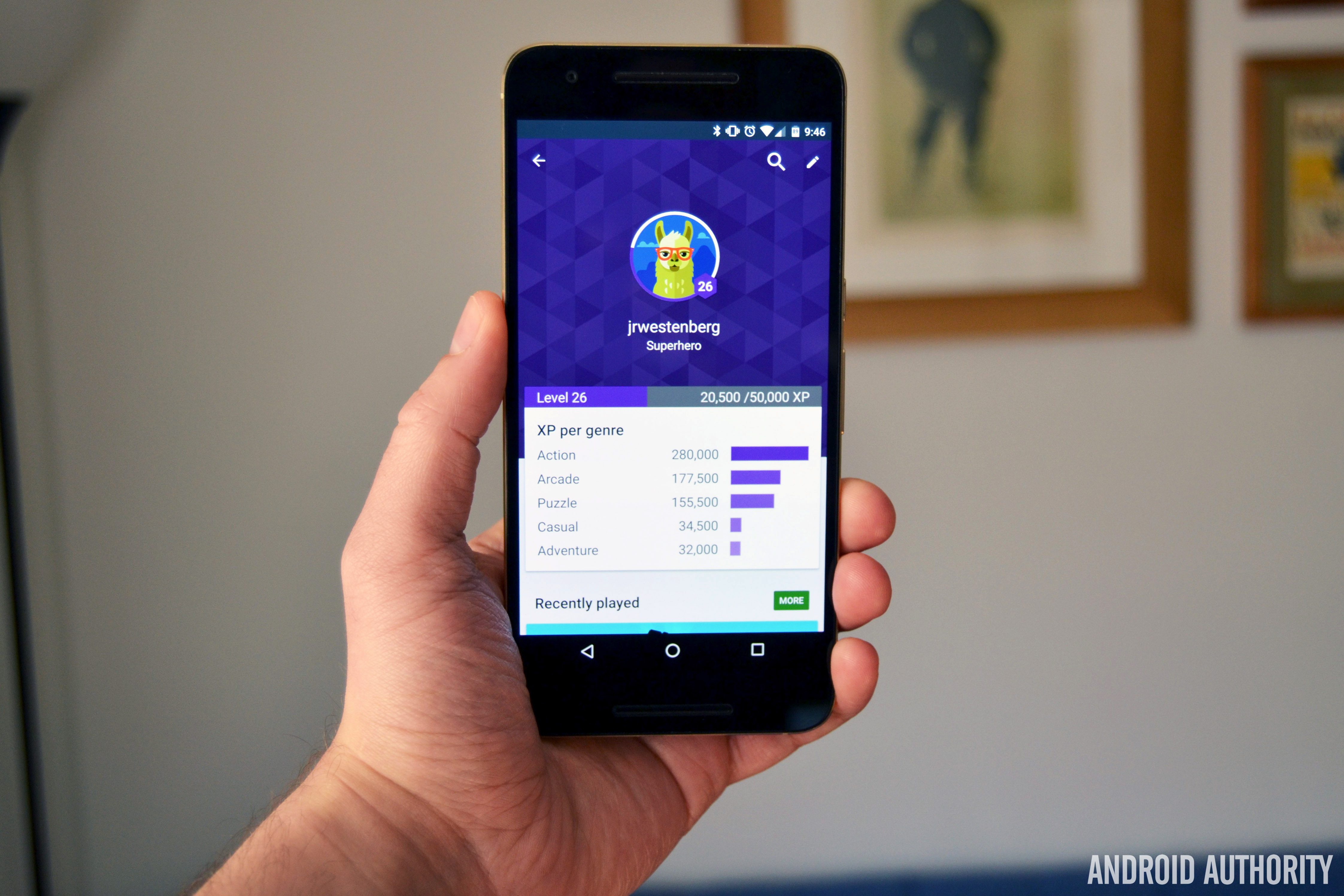 Google Play Games Gamer ID