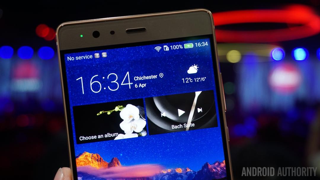 Huawei P9 display