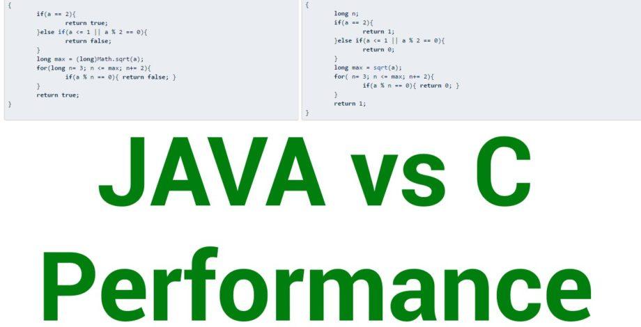 Java vs C app performance - Gary explains - Android Authority