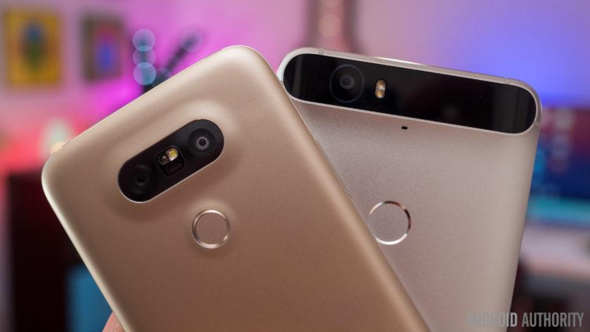 LG G5 vs Nexus 6P 1 of 14