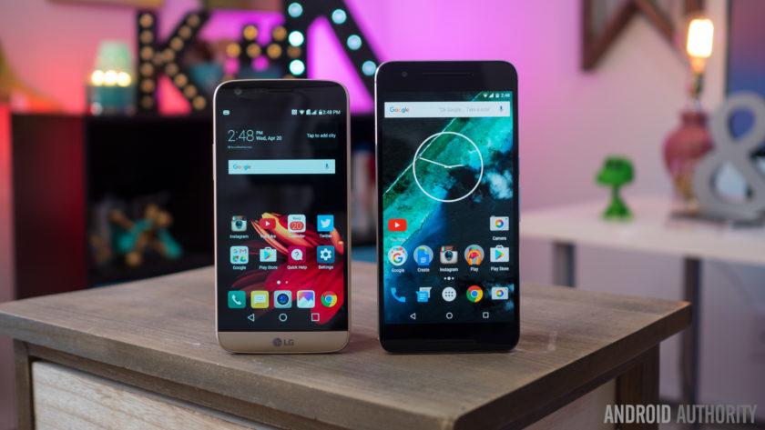 LG G5 vs Nexus 6P 13 of 14