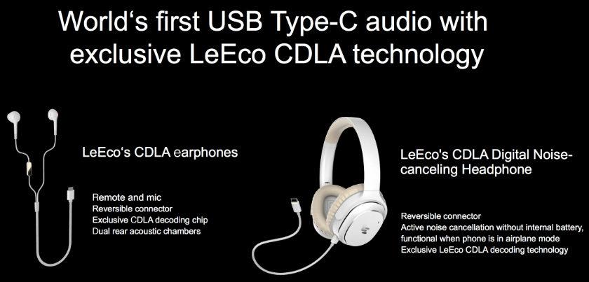 LeEco USB Type-C headphones