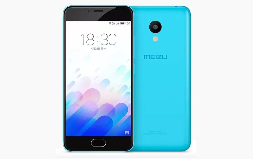 Meizu m3 blue
