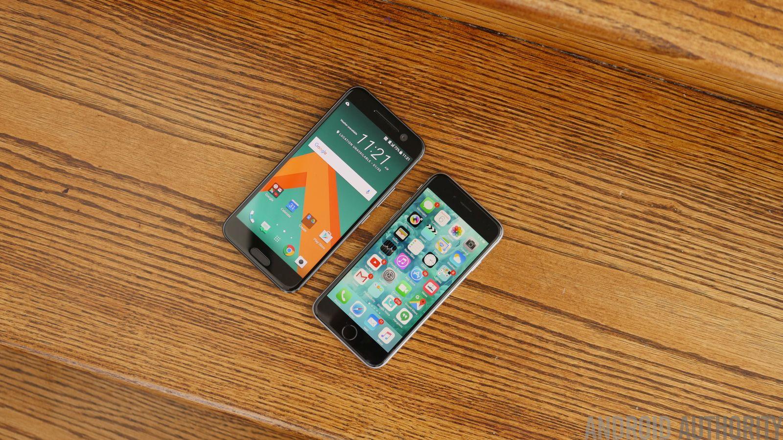 Htc 10 Specs Vs Iphone 6s