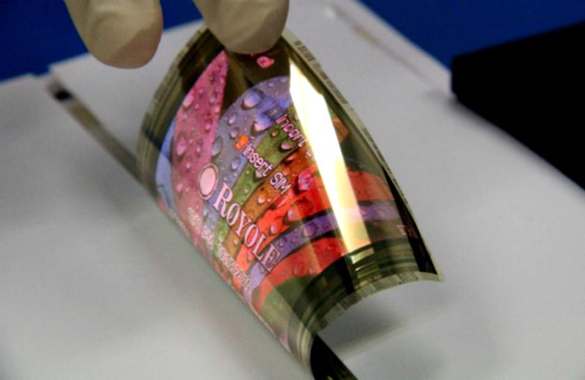 Royole super thin OLED display