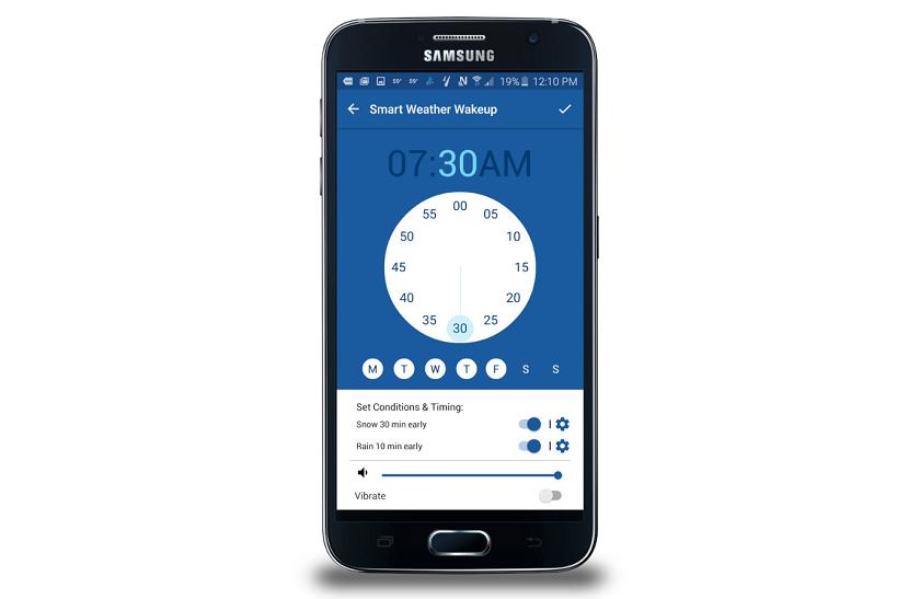 Samsung Weather Channel app